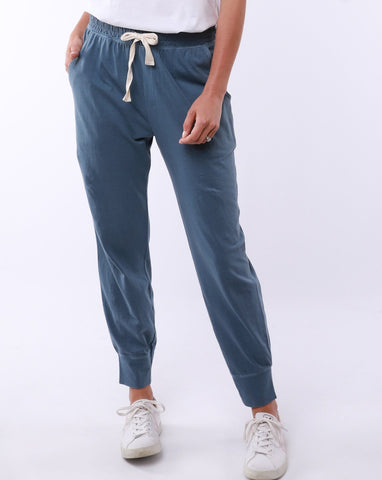 Wash Out Lounge Pant | Steel Blue
