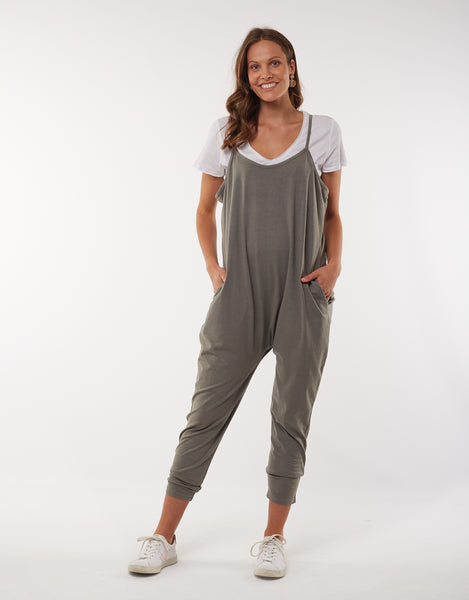 Harriet Jumpsuit | Khaki