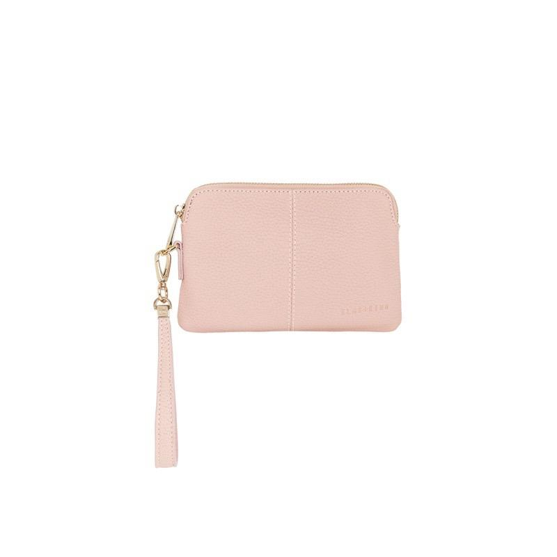 Bowery Coin Purse W/Wristlet - Dusty Rose
