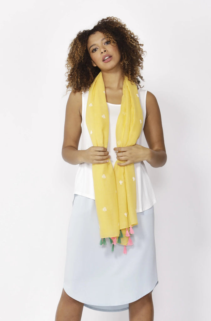 Mexicola Scarf | Lemon