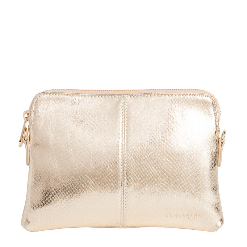 Bowery Wallet | Gold Snake
