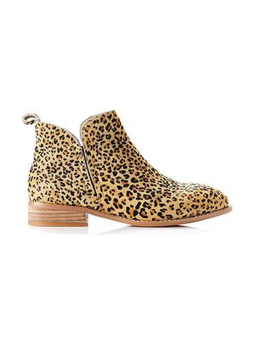 Douglas Boot | Mini Tan Leopard