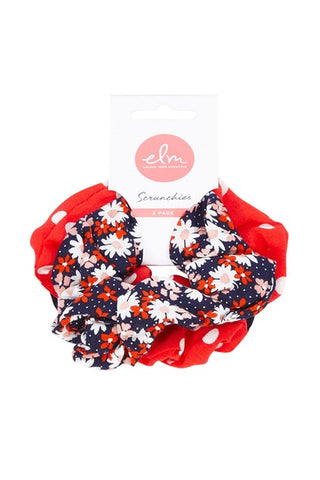 Dottie Daisy Scrunchie Pack