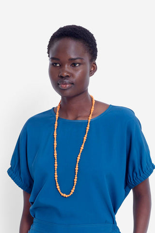 Asta Necklace | Orange