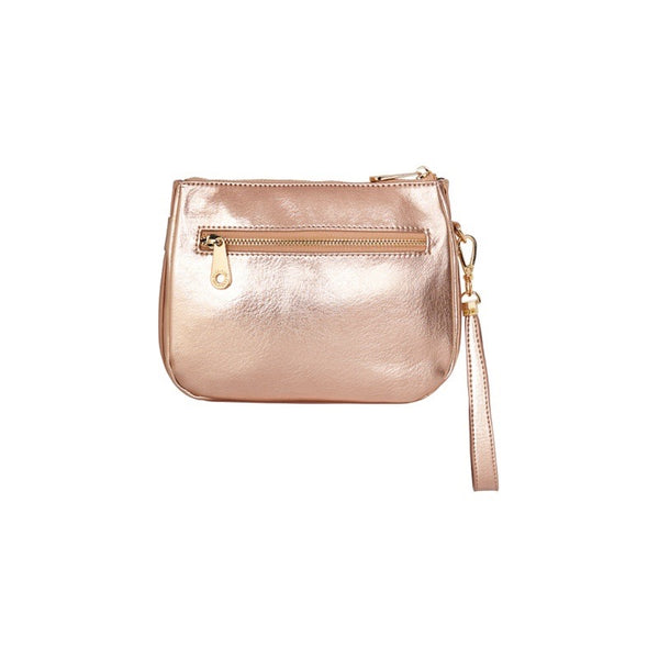Naples Clutch - Rose Gold