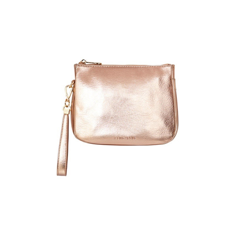 Naples Clutch | Rose Gold
