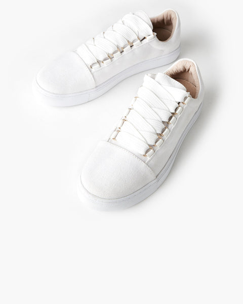 Harris Canvas Sneaker | White