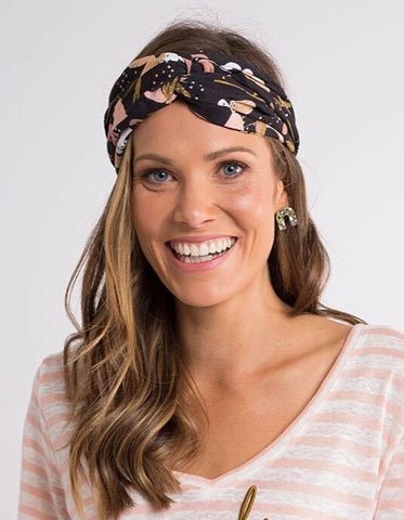 Midnight Twist Headband