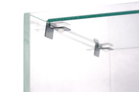 accessories UNS Rimless Tank Glass Lids with Stainless Steel Clips