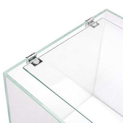 UNS Rimless Tank Glass Lids with Stainless Steel Clips - BucePlant.com