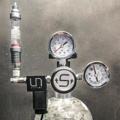 CO2 UNS Dual Gauge CO2 Regulator
