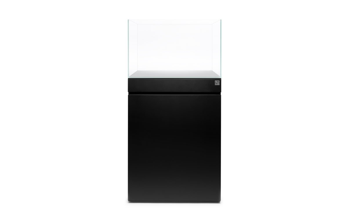 UNS Aquarium Stand and Tank Combo - Jet Black