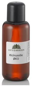 Vegan Urtegaarden Castor Oil 100 ml Natural oil buy at green mindset