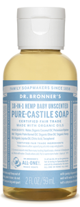 Vegan Dr.Bronner's Dr. Bronner's Baby-mild Unscented Castile Soap Soap buy at green mindset