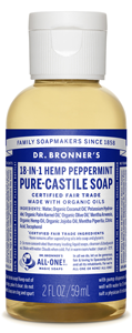 Vegan Dr.Bronner's Dr. Bronner's Peppermint Castile Soap Soap buy at green mindset