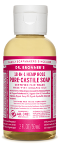 Vegan Dr.Bronner's Dr. Bronner's Rose Castile Soap Soap buy at green mindset