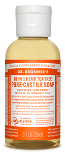 Vegan Dr.Bronner's Dr. Bronner's Tea tree Castile Soap Soap buy at green mindset