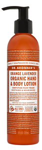 Vegan Dr.Bronner's Dr. Bronner's Orange Lavender Organic Lotion 237ml Body lotion buy at green mindset