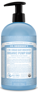 Vegan Dr.Bronner's Dr. Bronner's Shikakai Baby Unscented soap 355ml Soap buy at green mindset