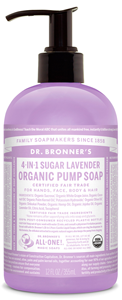 Vegan Dr.Bronner's Dr. Bronner's Shikakai Lavender soap 355ml Soap buy at green mindset