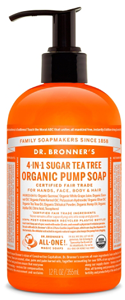 Vegan Dr.Bronner's Dr. Bronner's Shikakai Tea Tree soap 355ml Soap buy at green mindset