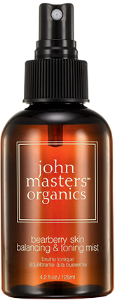 Vegan John Master Organics Bearberry Skin Balancing and Toning Mist 59ml Face Toner buy at green mindset
