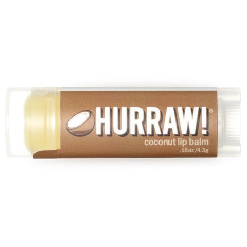 Vegan Hurraw! Balm Hurraw! Balm, Lip Balm, Coconut Lip Balm buy at green mindset