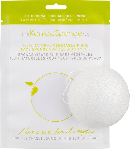 Vegan Konjac Sponge 100% pure Konjac Facial Sponge - for all skin types Exfoliator buy at green mindset