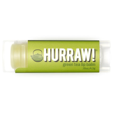 Vegan Hurraw! Balm Hurraw! Balm, Lip Balm, Green Tea Lip Balm buy at green mindset