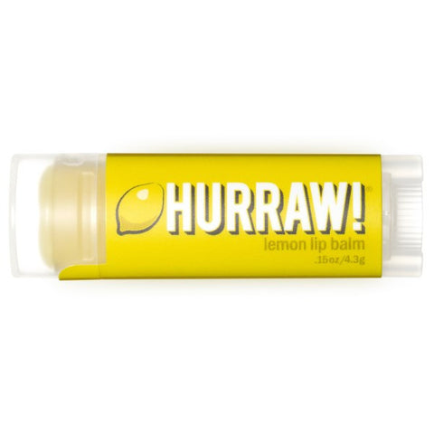 Vegan Hurraw! Balm Hurraw! Balm, Lip Balm, Lemon Lip Balm buy at green mindset