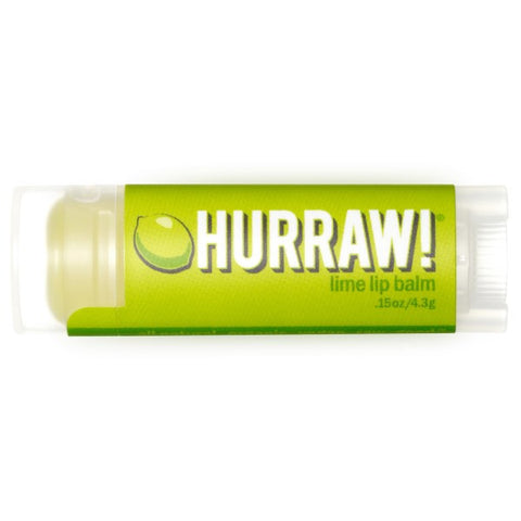 Vegan Hurraw! Balm Hurraw! Balm, Lip Balm, Lime Lip Balm buy at green mindset