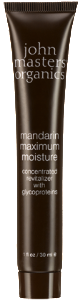 Vegan John Master Organics Mandarin Maximum Moisturiser 30ml Moisturiser buy at green mindset