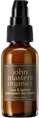 Vegan John Master Organics Rose and Apricot Antioxidant Day Creme 30ml Moisturiser buy at green mindset