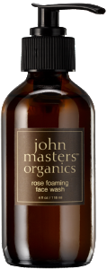 Vegan John Master Organics Rose Foaming Face Wash 118ml Cleanser buy at green mindset