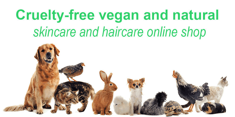 cruelty-free, vegan and natural skincare and haircare