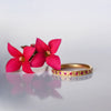 Band Ring - 18k solid gold & Rubies