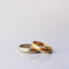Triangle Wedding Ring - solid gold