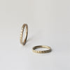 Decorated Wedding Ring - 18k solid gold