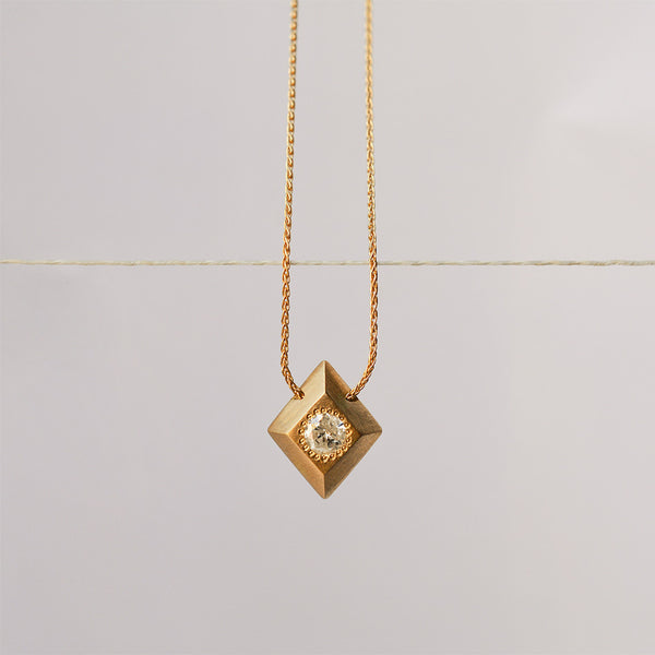 Icy necklace - 18k gold & Diamond
