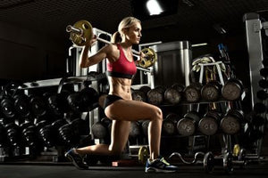The Barbell Lunge
