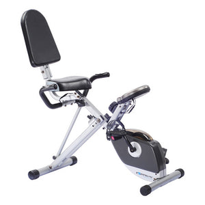 Exerpeutic 400XL Recumbent Bike with Pulse - Indoor Cyclery