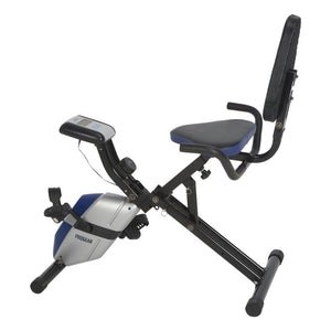 ProGear 190 Compact Recumbent Bike with Heart Pulse Sensors - Indoor Cyclery