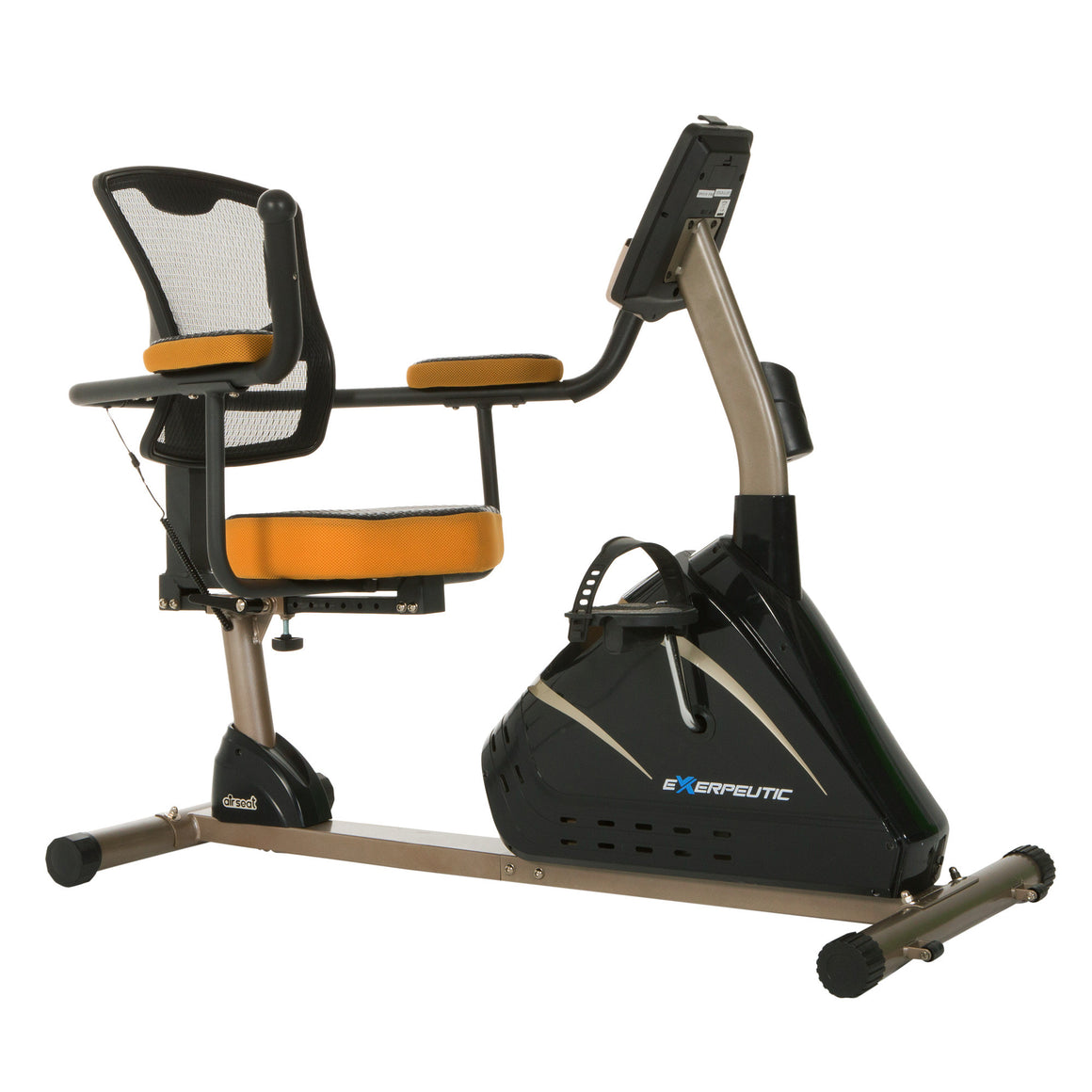 4000 Magnetic Recumbent Bike with Mobile App Tracking - Indoor Cyclery