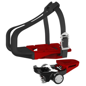 Spinning Trio QR™ Pedals - Morse Taper - Indoor Cyclery
