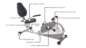 Stamina Programmable Magnetic 4825 Exercise Bike - Indoor Cyclery