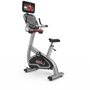 Star Trac 8 Series Upright Bike W/LCD - Indoor Cyclery