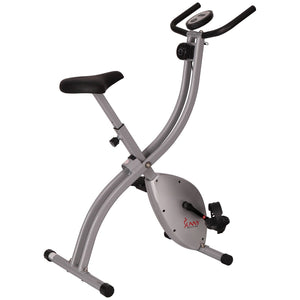 Sunny Health & Fitness SF-B2605 Magnetic Folding Exercise Bike - Indoor Cyclery
