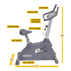 Endurance B2U Upright Bike - Indoor Cyclery