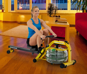 First Degree Fitness Daytona Challenge AR Fluid Rower with Adjustable Resistance - Indoor Cyclery