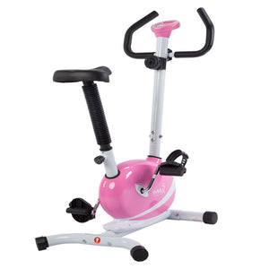 Sunny Health & Fitness Pink Magnetic Upright Bike - Indoor Cyclery